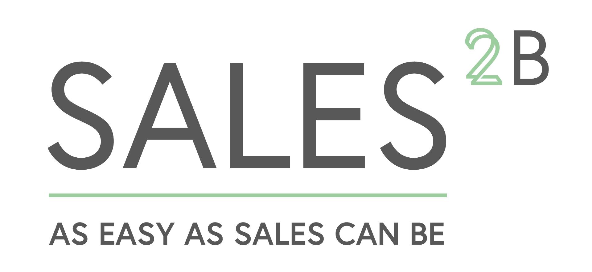 SALES2B Logo weiß